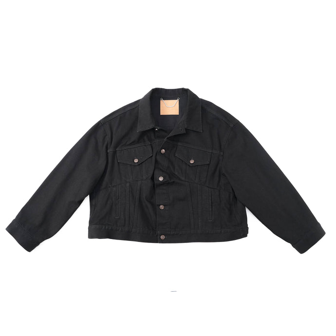 Swing Denim Jacket Black