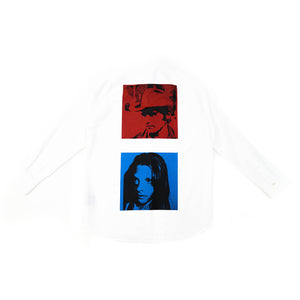 Oversized Andy Warhol Printed Shirt