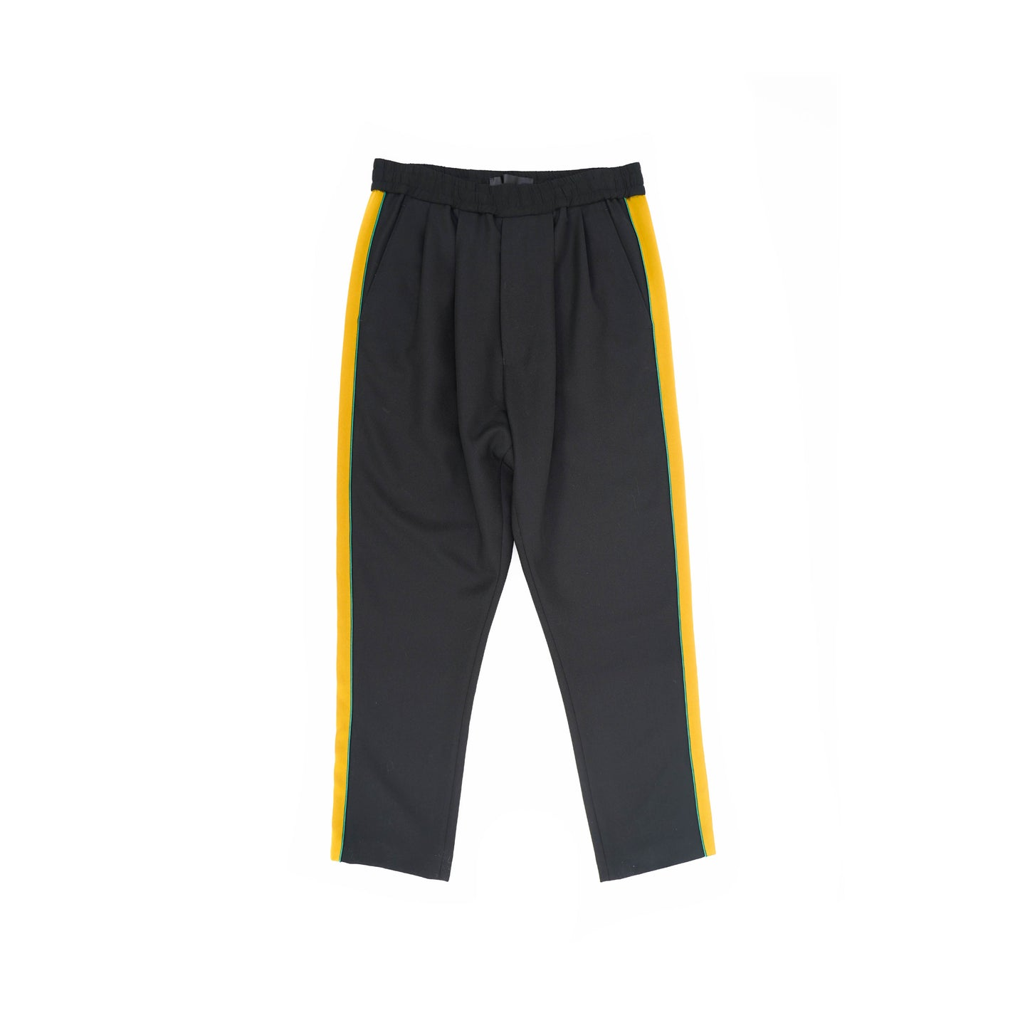 Gold Side Striped Orbai Trousers