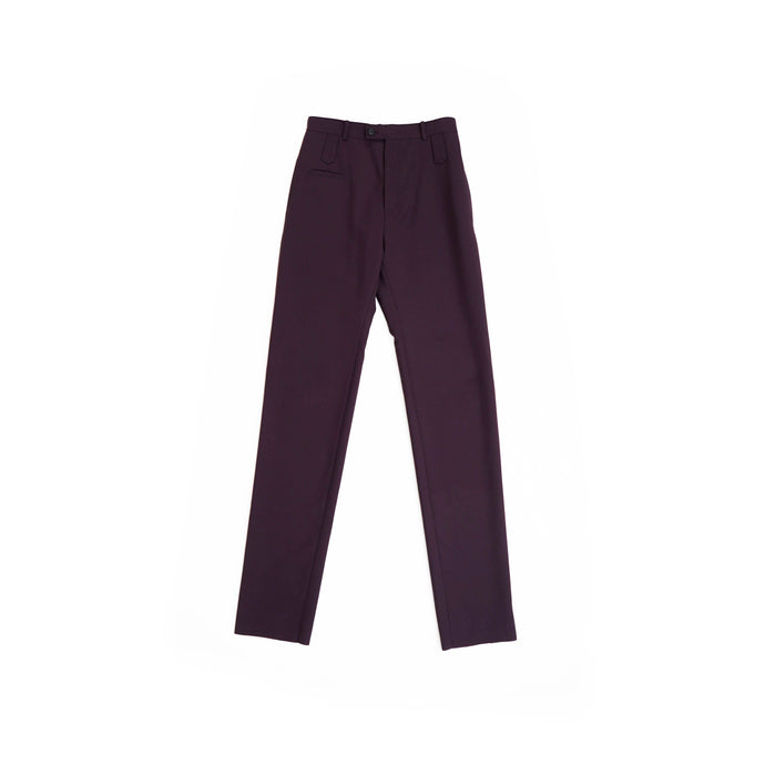Purple Elonged Leg Trousers