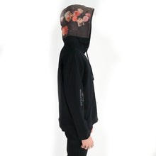 "Load image into Gallery viewer, Floral Printed ""Joy Division"" Hoodie"