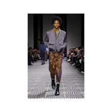 Load image into Gallery viewer, FW18 Purple Striped Orbai Trousers