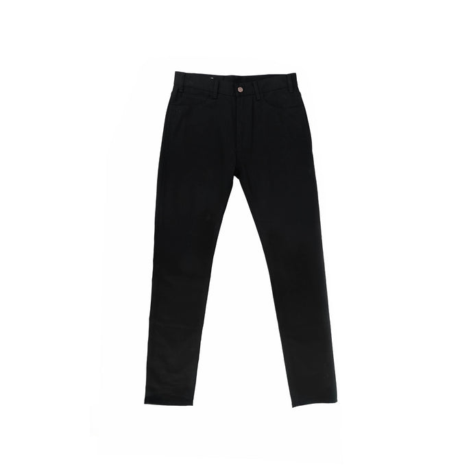 001 Skinny High Waisted Black Denim