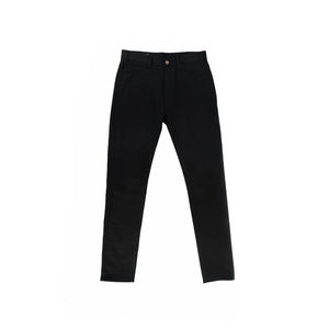 003 Skinny Low Waisted Black Denim