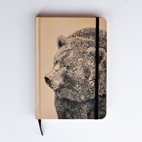 Brown Bear - Hard Cover Writing Journal