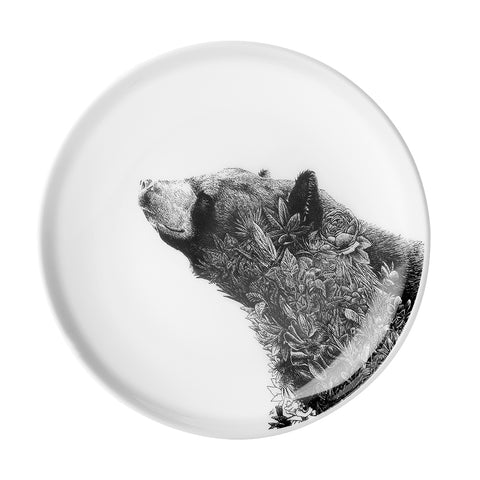 Asiatic Black Bear - Maxwell & Williams Plate/Dish