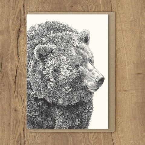 Brown Bear - Greeting Cards
