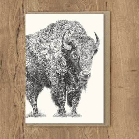 American Bison - Greeting Cards