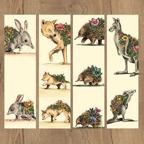 Australian Families - Bookmark Set of 8