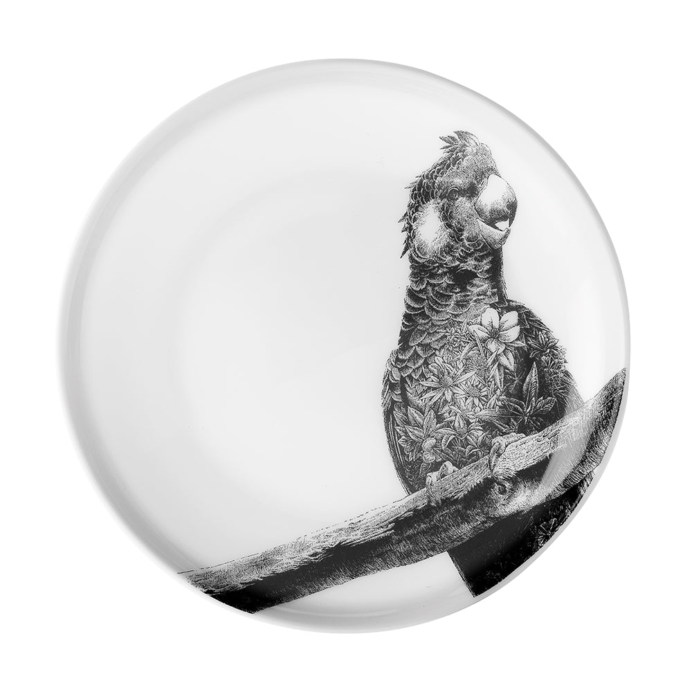 Carnaby's Black Cockatoo - Maxwell & Williams Plate/Dish