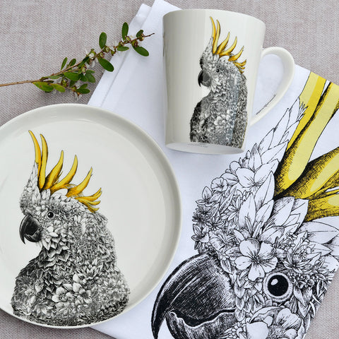 Sulphur-crested Cockatoo - Maxwell & Williams Mug