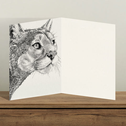 Cougar - Greeting Cards