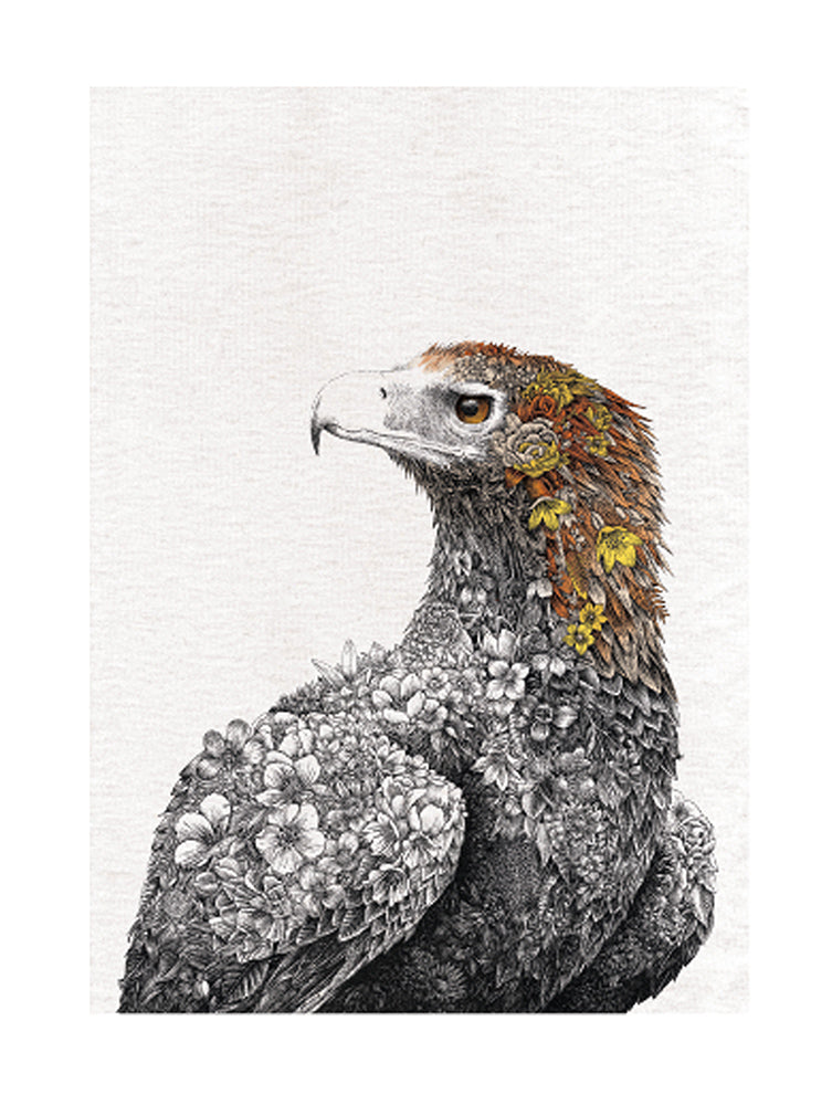 Wedge-tailed Eagle - Tea Towel