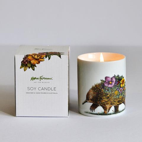 Echidna & Puggles - Soy Candle