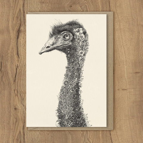 Emu - Greeting Cards