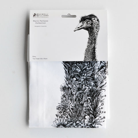 Emu - Tea Towel