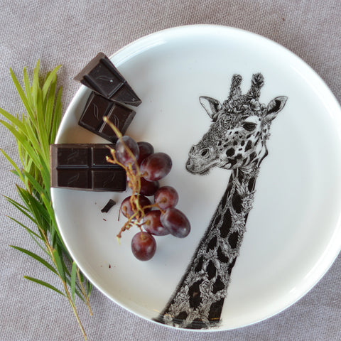 West African Giraffe - Maxwell & Williams Plate/Dish