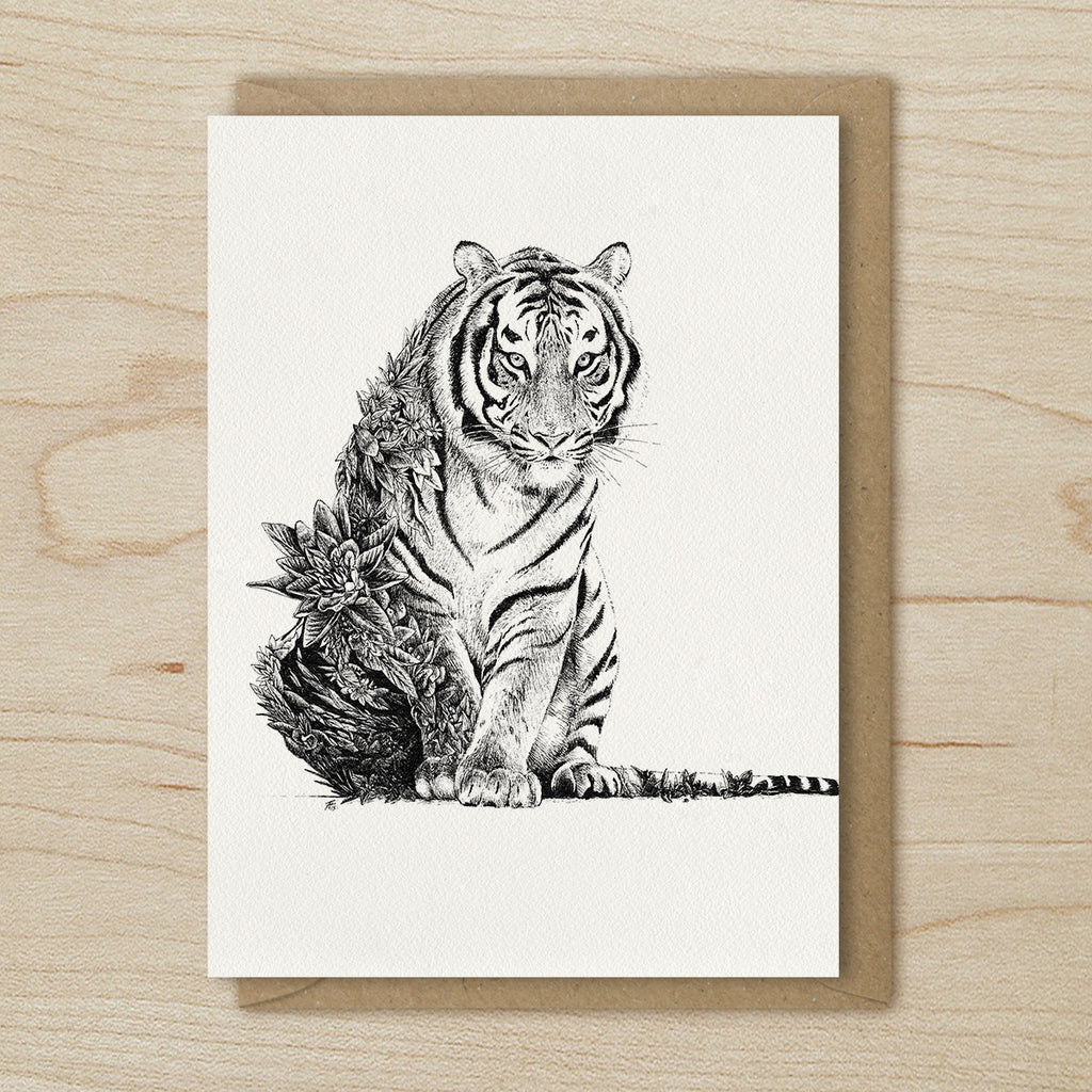 Bengal Tiger - Greeting Cards