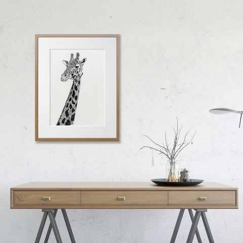 West African Giraffe by Nathan Ferlazzo