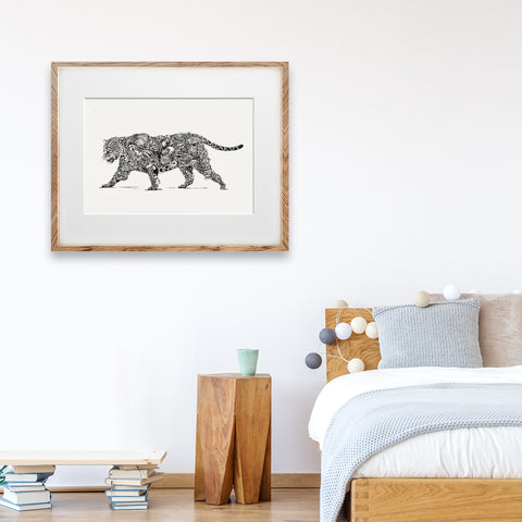 Jaguar / South America - Giclée Print