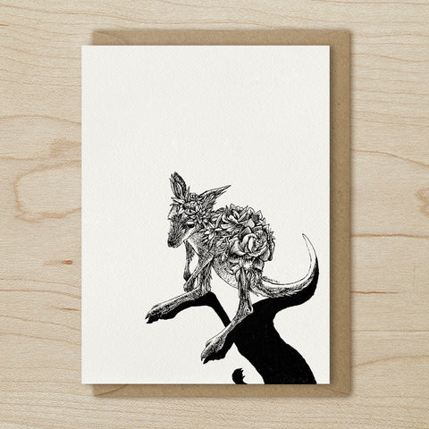 Kangaroo Joey - Greeting Cards