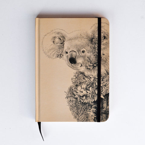 Koala - Hard Cover Writing Journal
