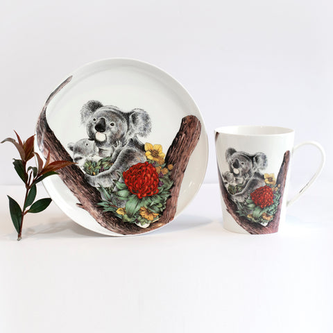 Koala Cuddle - Maxwell & Williams Plate