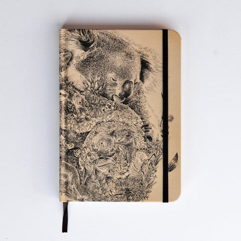 Koala & Friends - Hard Cover Writing Journal