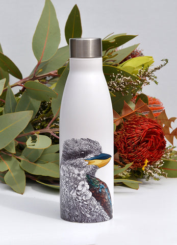 Laughing Kookaburra - Double Wall Insulated Bottle 500ml