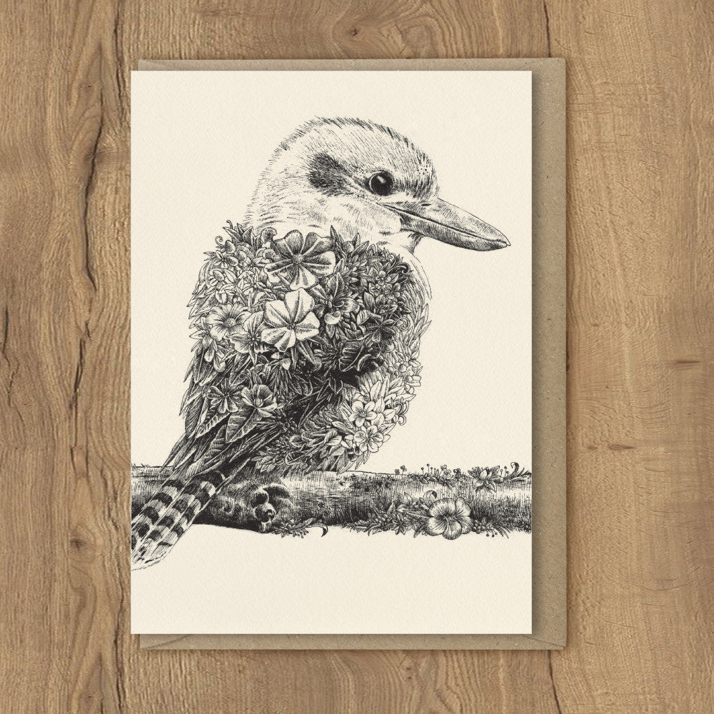 Kookaburra - Greeting Cards