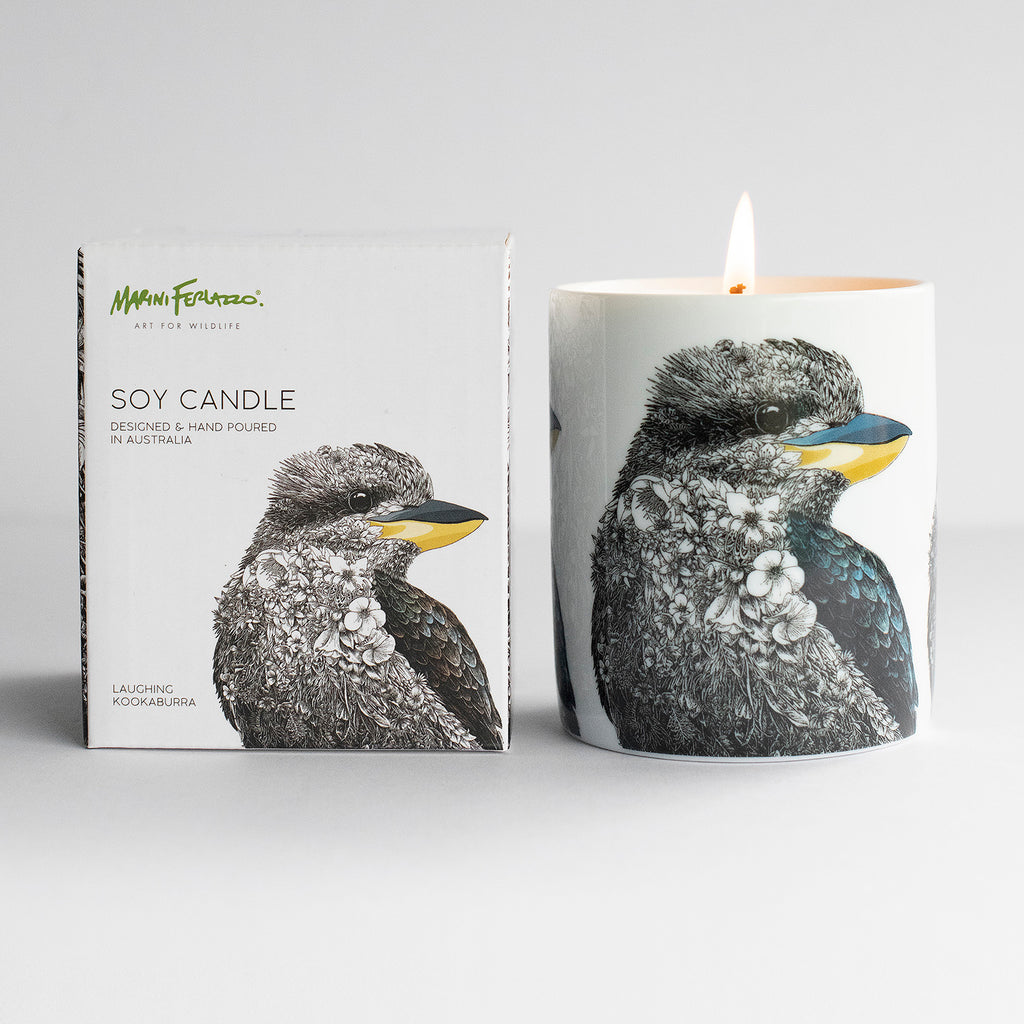 Laughing Kookaburra - Soy Candle