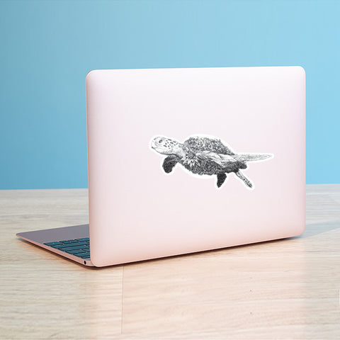Turtle - Vinyl Sticker