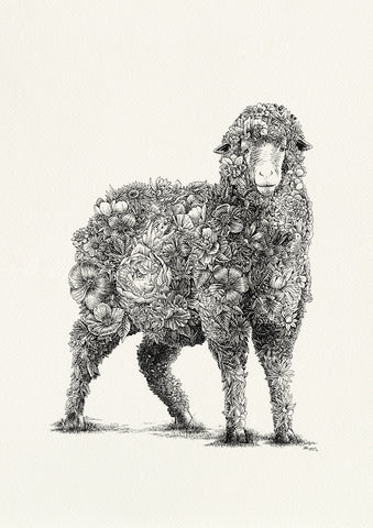 Molly Brown (sheep) - Giclée Print