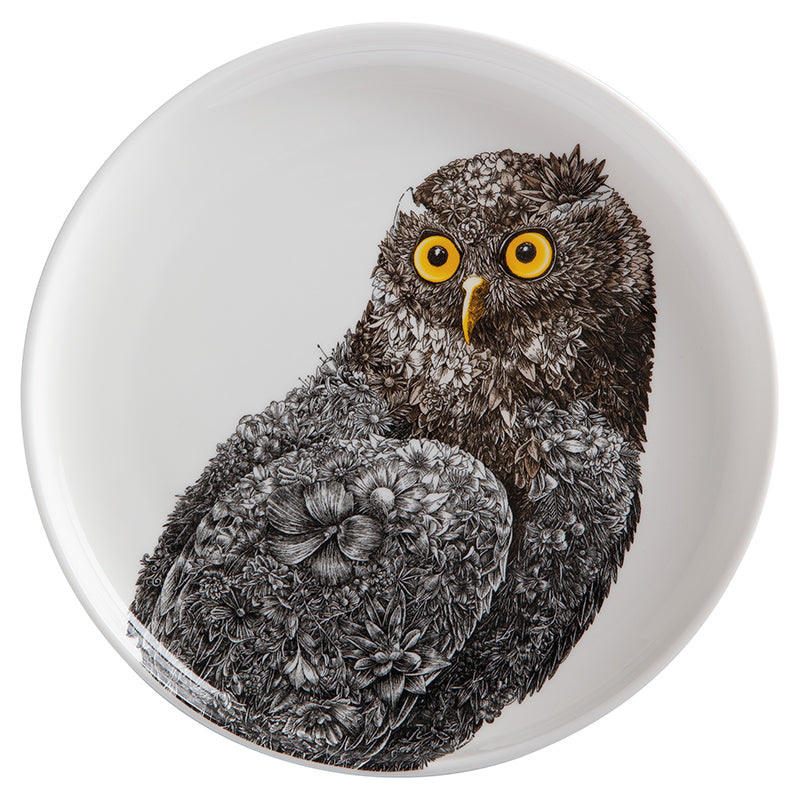 Barking Owl - Maxwell & Williams Plate