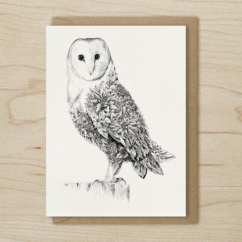 Barn Owl - Greeting Cards