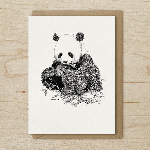 Giant Panda - Greeting Cards