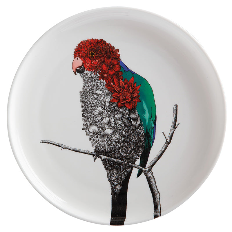 Australian King Parrot - Maxwell & Williams Plate