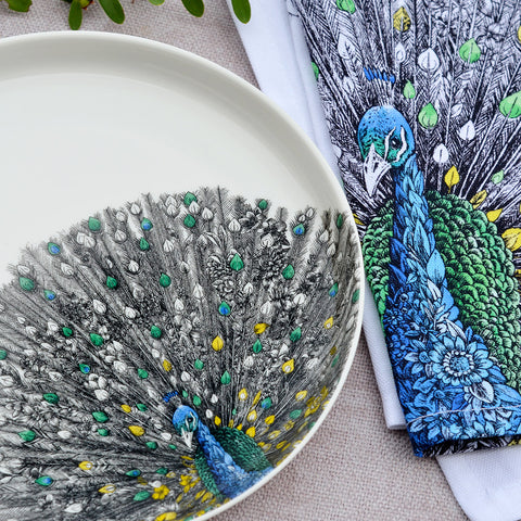 Peacock - Maxwell & Williams Plate