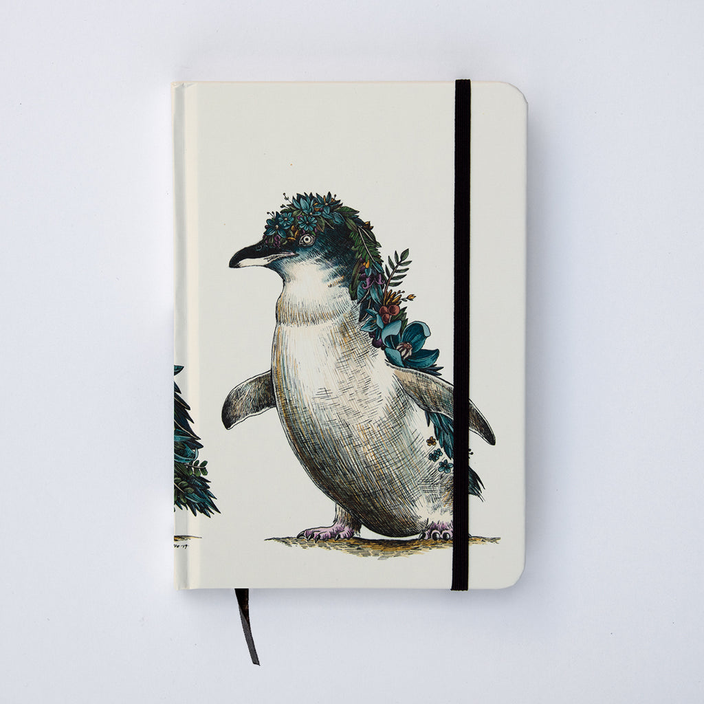 Penguin Parade - Hard Cover Writing Journal