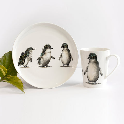 Penguin Parade - Maxwell & Williams Plate