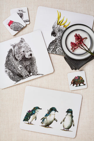 Birds of Australia - Placemat Set of 4