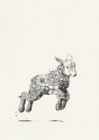 Popeye the Sailor Lamb - Giclée Print