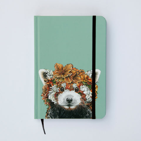 Red Panda - Hard Cover Writing Journal