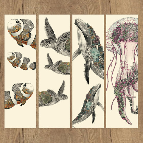 Reef Life - Bookmark Set of 8
