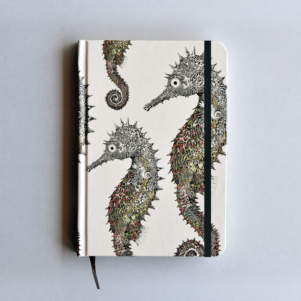 Spiny Seahorse - Hard Cover Writing Journal