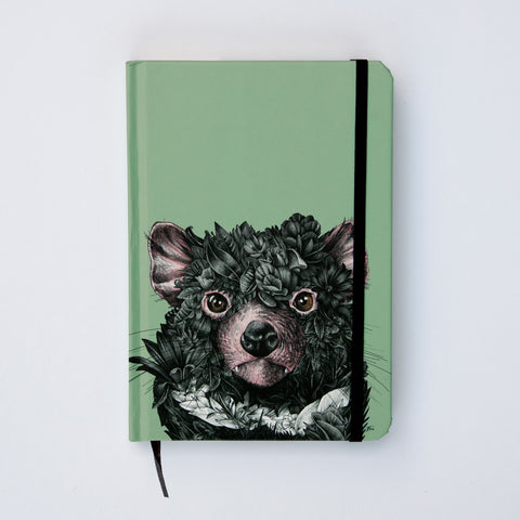 Tasmanian Devil - Hard Cover Writing Journal