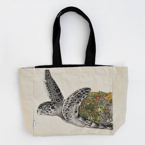 Hawksbill Sea Turtle - Tote Bag