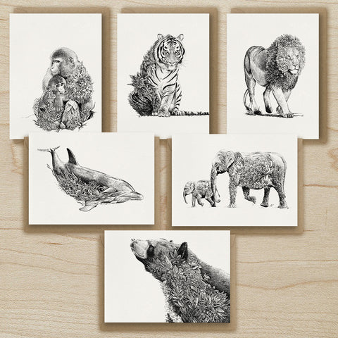 World Animal Protection - Greeting Card Set