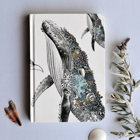 Humpback Whale - Hard Cover Writing Journal