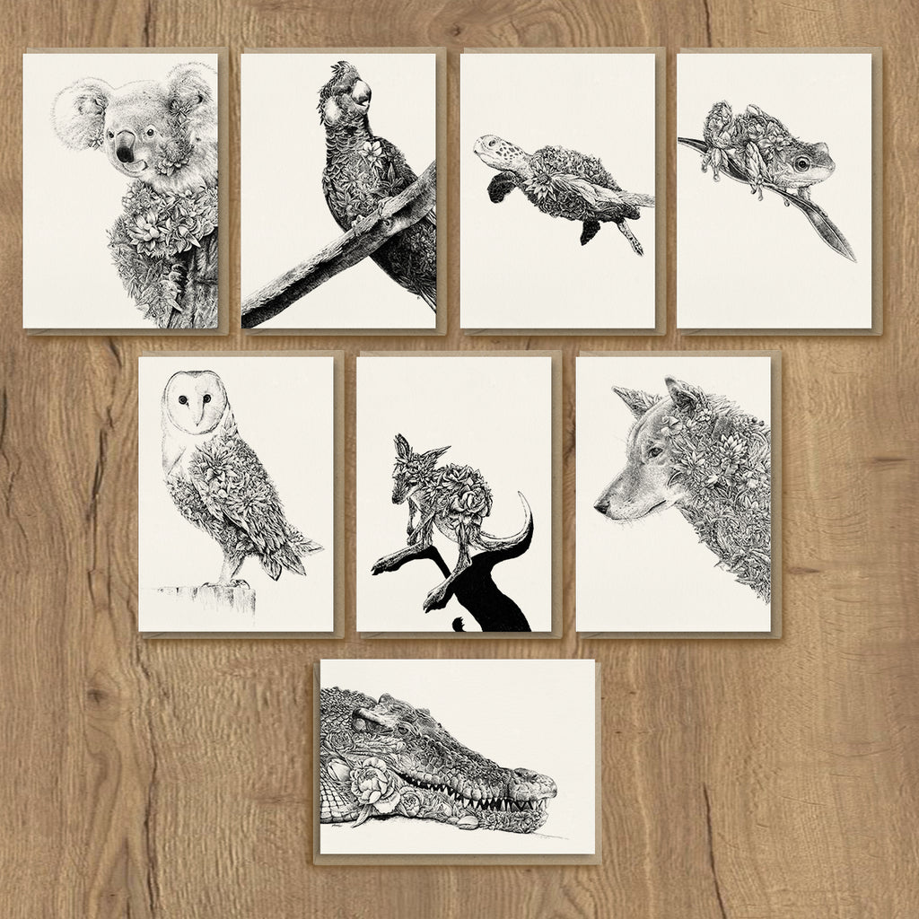 Wild Australia - Greeting Card Set